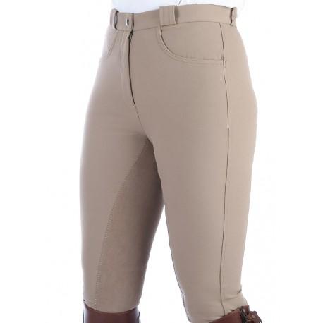 "Pantalon Dame ""Damask Fond Peau"" - Taupe"