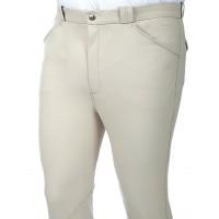 """Pantalon Homme """"Damask Him"""" - Blanc"""