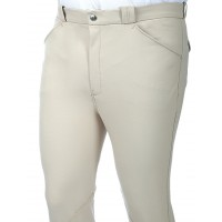 "Pantalon Homme ""Damask Him"" - Blanc"