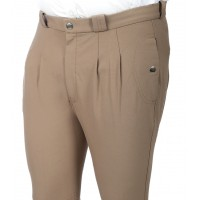 "Pantalon Homme ""Damask Wider"" - Taupe"