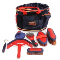 """Grooming Bag Newmarket"" Rouge"