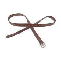 Etrivières cuir standard Tabac - TdeT