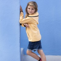 Sweat enfant Jaune - Horseware