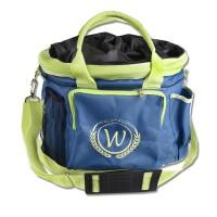 Waldhausen Sac de pansage - Turquoise foncé/Jaune