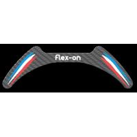 Flex-on - Personnalisation - Kit aspect Carbone pour Etriers Flex-on GCA