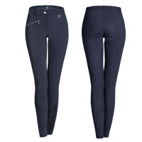 ELT - Pantalon équitation Femme Micro Sport Pro Bleu nocturne